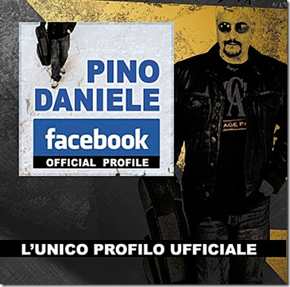 Pino Daniele - facebook official profile